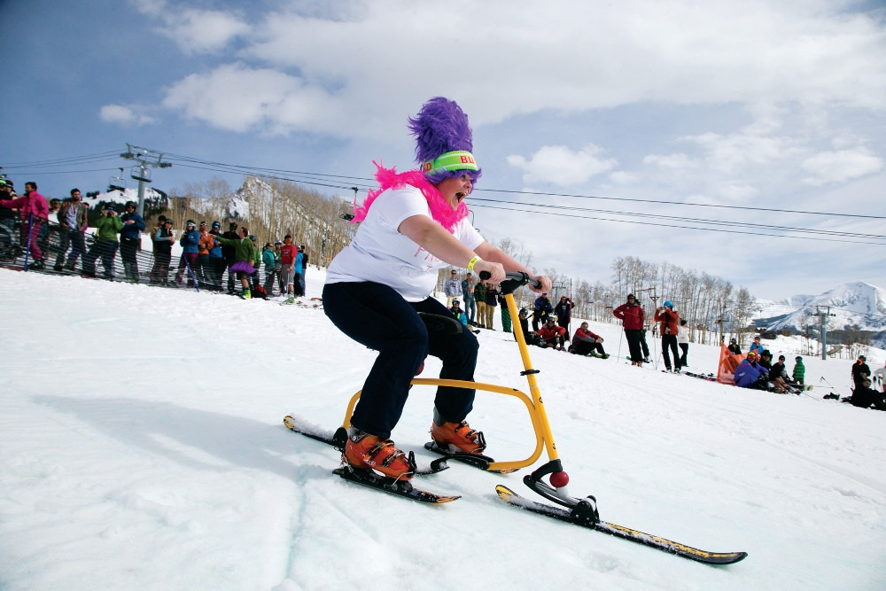 Crested Butte Closing Day, Crested Butte costume parties