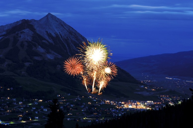 Top ski resorts for New Year's Eve fireworks