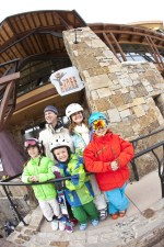 The Treehouse Kids' Adventure Center is located in the Snowmass Base Village, just steps from the chairlift, and makes pick-up and drop-off a cinch. pc: Aspen Snowmass