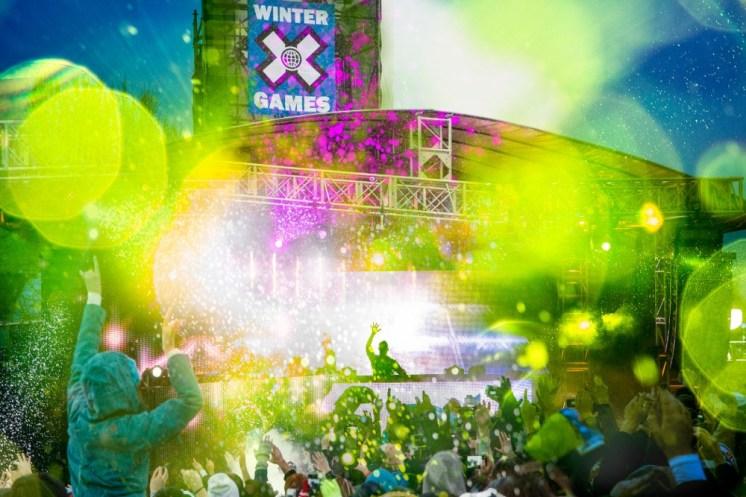2015 X Games Snoop Dogg, 2015 X Games Wiz Khalifia, 2015 X Games Aspen Skrillex, 2015 X Games Aspen Chromeo