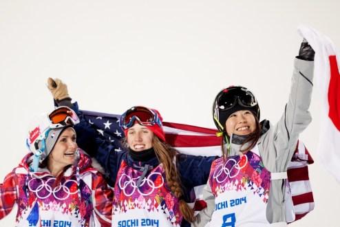 women's ski halfpipe medalists Sochi Olympics, Maddie Bowman halfpipe gold medalist