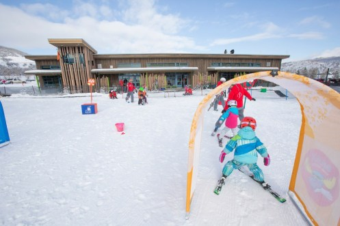 Buttermilk ski instructors create a fun and safe environment for children to learn. pc: Aspen Snowmass/Hal Williams
