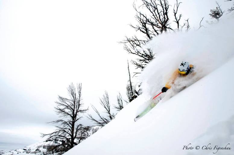 Skier Jeff Annetts on The Crags at Jackson Hole, Feb. 5 | Photo: Chris Figenshaw, Jackson Hole Mountain Resort