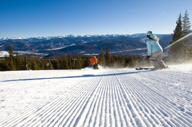 Breckenridge beginner skiing