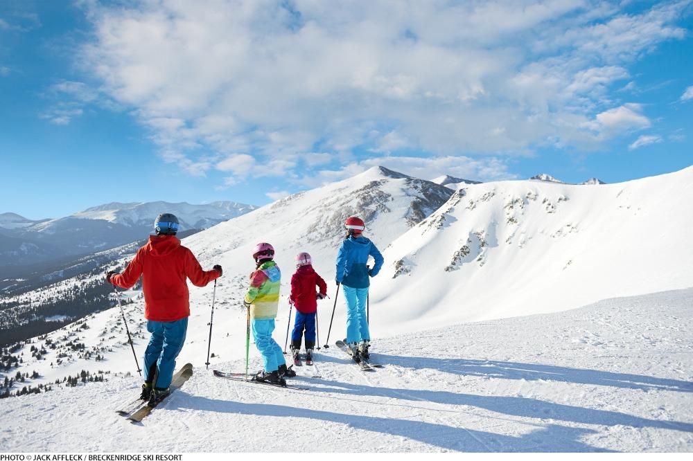 Peak 6 Breckenridge, Breckenridge spring break, Breckenridge spring skiing