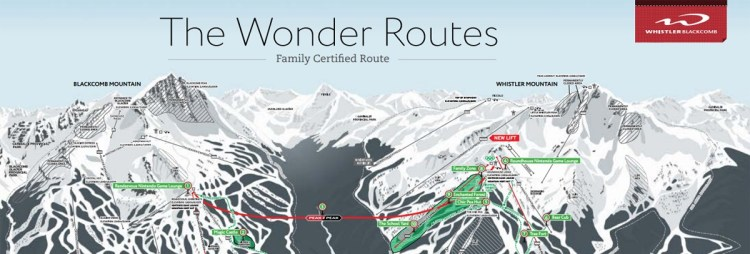 family certified route, The Wonder Routes