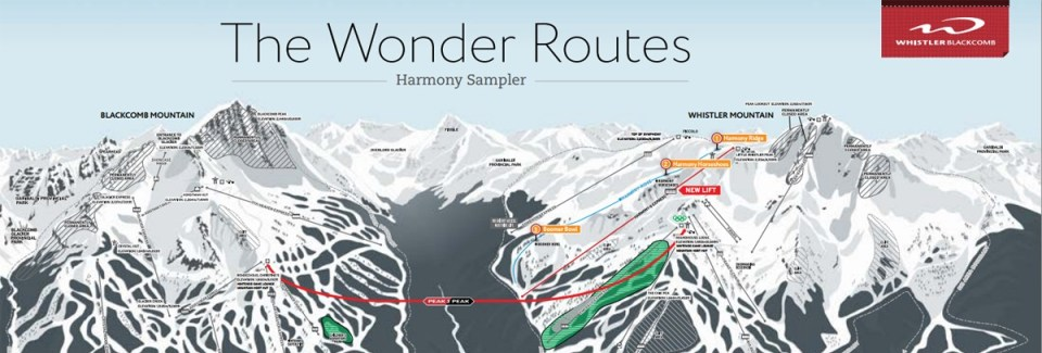 Harmony Sampler, The Wonder Routes