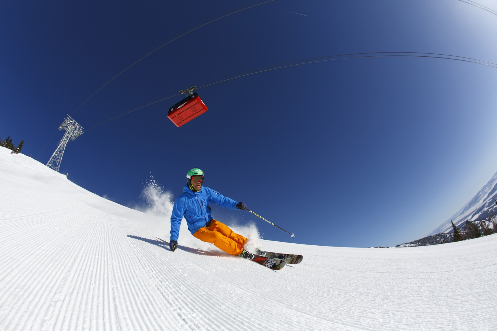 spring skiing Jackson Hole