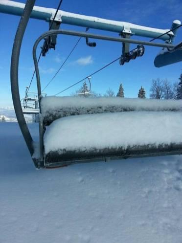 snow Powderhorn, Powderhorn snowfall Colorado