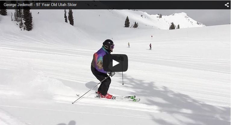 97 year old Utah skier, George Jedenoff