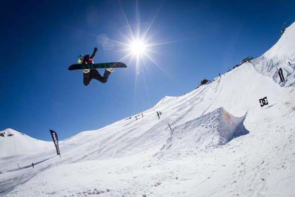 Valle Nevado terrain park