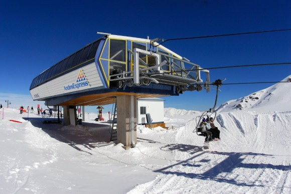 Valle Nevado is the home of Chile's first high-speed, detachable quad lift.   Photo: Valle Nevado