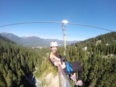 Whistler ziplining, ziptrek Whistler, Whistler Blackcomb zipline