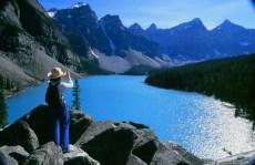 Lake Moraine, Banff, Alberta.| Photo: Banff Lake Louise