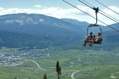 Crested Butte chairlift rides, Crested Butte summer