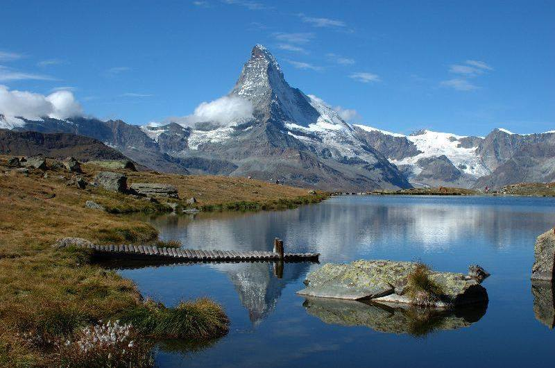 Riffelsee Lake Matterhorn, Matterhorn Zermatt, hiking in Zermatt, hiking the Matterhorn