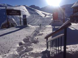 New snow at Valle Nevado