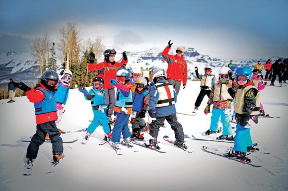 Families and couples with varying abilities love Telluride for its variety of terrain options. | Photo: Telluride Ski Resort