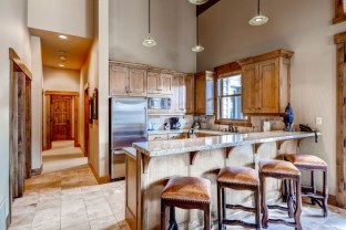 With in-unit, fully equipped kitchens, guests of Mont Cervin in Deer Valley can save on dining out by cooking meals in the condo. | Photo: Wyndham Vacation Rentals