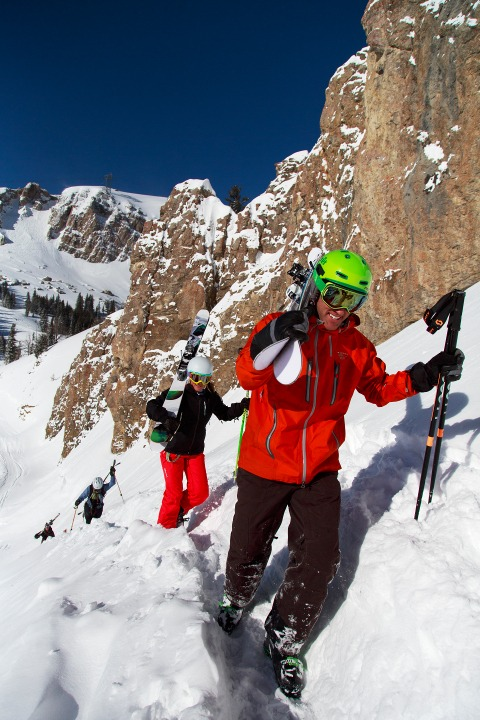 Take advantage of Jackson Hole's epic sidecountry skiing and book a guided tour. | Photo: Jackson Hole Mountain Resort