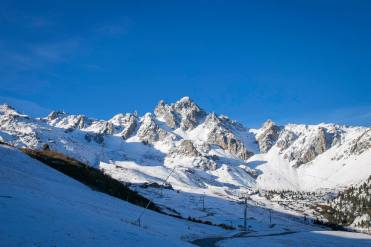 courchevel snow, october snow in Europe, october snow in alps