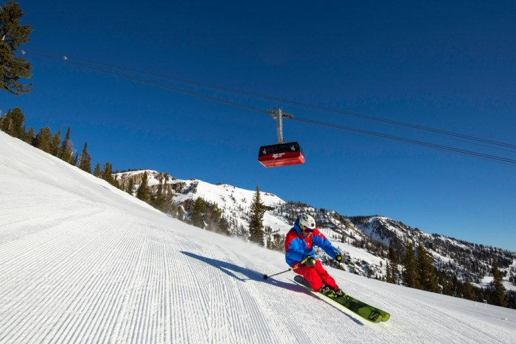 For steep groomers, few resorts compare to Jackson Hole. | Photo: Jackson Hole Mountain Resort