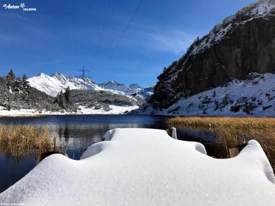 st anton snow, october snow in Europe, october snow in alps