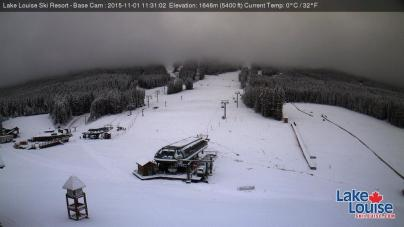 New snow Lake Louise