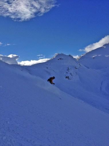 New snow at Kicking Horse