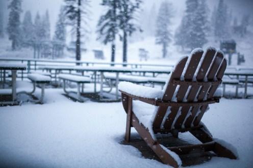 Alpine Meadows first snow
