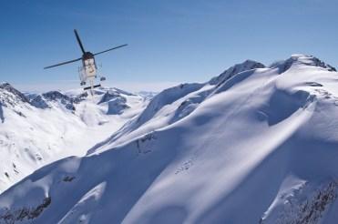 heli skiing in Whistler