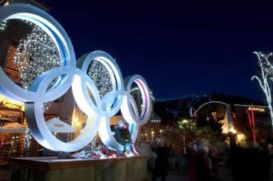 Visitors can relive the 2010 Olympic magic at Whistler's Olympic Village. | Photo: Tourism BC