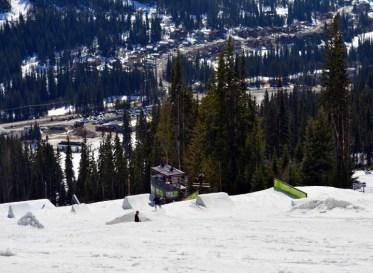 Sun Peaks terrain park