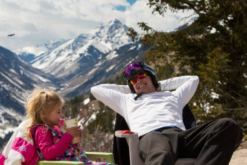Aspen Snowmass' Buttermilk provides gentle learning terrain and plenty of places to relax in the sun. | Photo: Aspen Snowmass