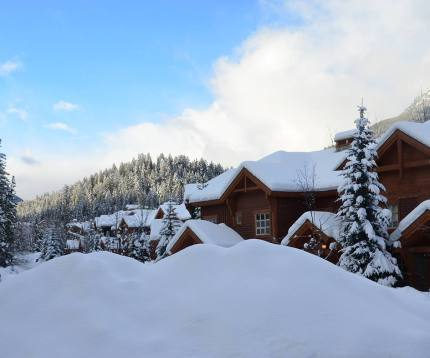Snow is piled high at Panorama Mountain Resort | Photo: Panorama Mountain Resort