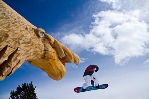 Jackson Hole has four Burton Stash Parks. | Photo: Julie Weinberg, Jackson Hole Mountain Resort