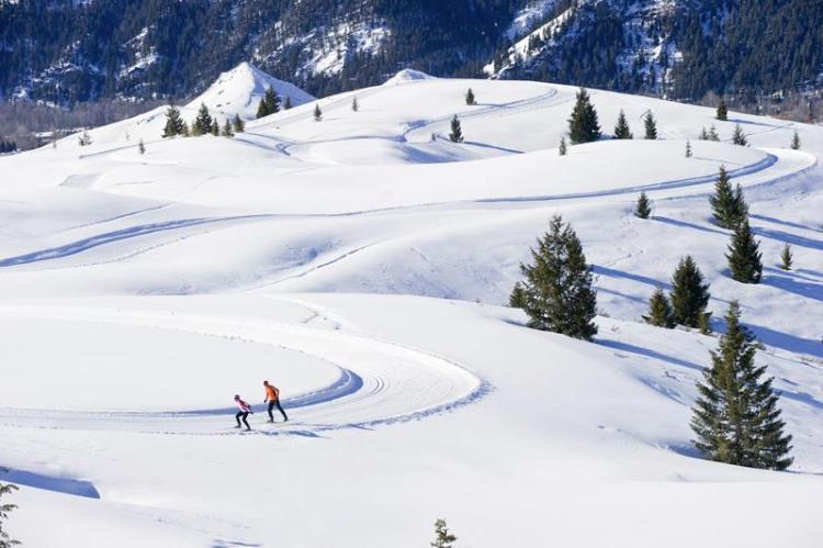 Sun Valley cross country skiing, Sun Valley Nordic