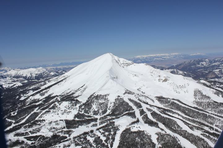 Big Sky bowl skiing