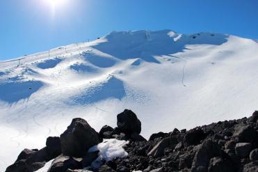 Mt. Bachelor snowfall