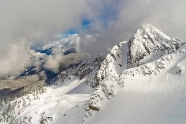 bowl skiing Revelstoke
