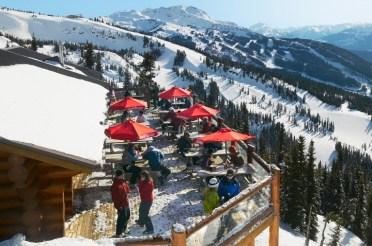 apres ski Whistler