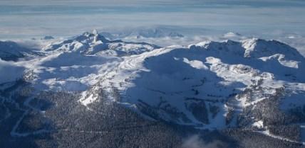 Whistler bowl skiing