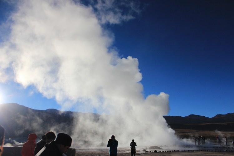 Tatio geyser Atacama