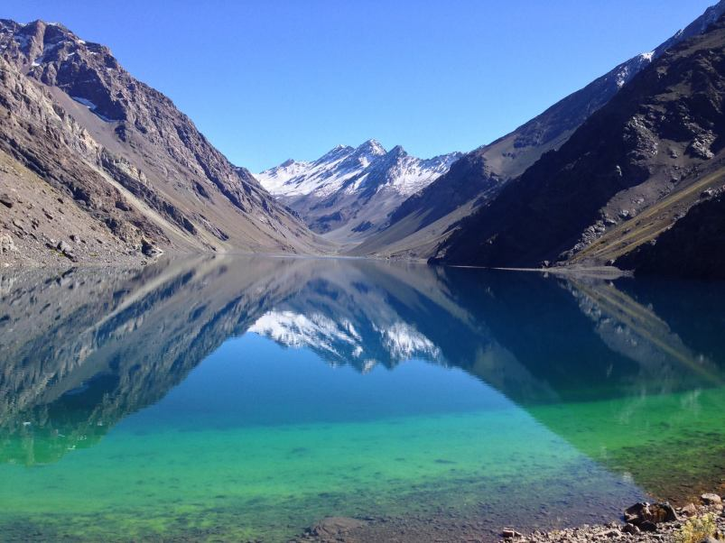 Lake of the Incas Portillo Chile
