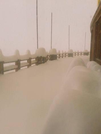 Portillo snowfall