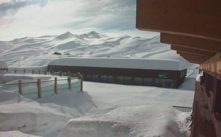 snowstorm at Valle Nevado