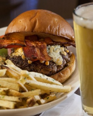 Balboa Burger at Plumpjack Cafe Squaw