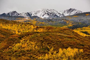Aspen Snowmass aglow on Sept. 23 | Photo: Jeremy Swanson, Aspen Snowmass