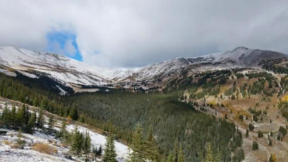 Breckenridge frosted on Sept. 24   Photo: Breckenridge Ski Resort
