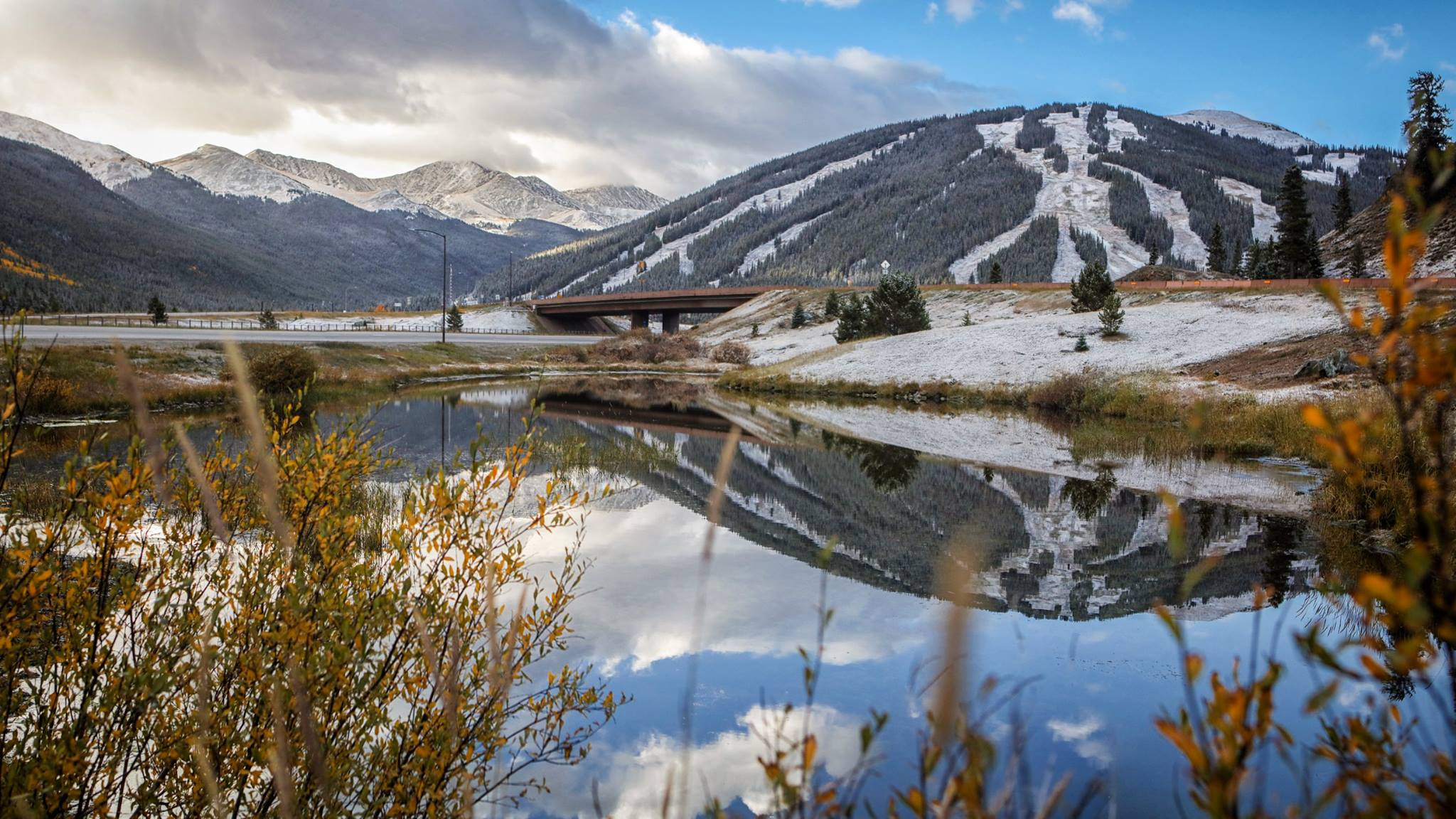 September snow at Copper Mountain